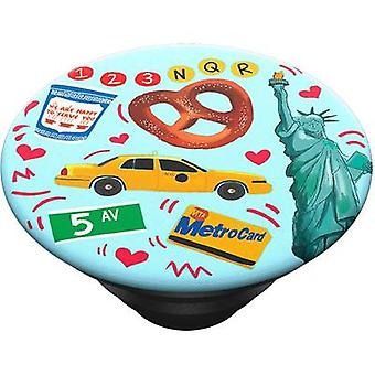 POPSOCKETS New York Mobile phone stand Green (textured)