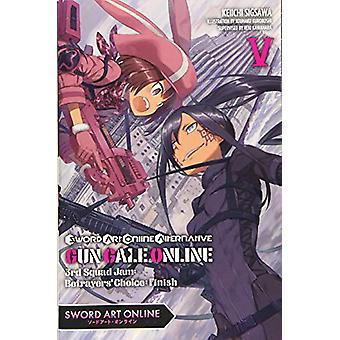 Sword Art Online Alternative Gun Gale Online - Vol. 5 (kevyt romaani) b