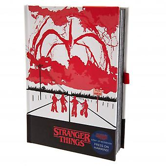Stranger Things Light Up Notebook