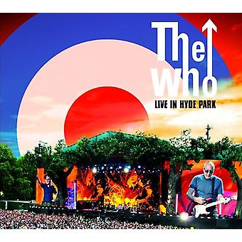 The Who - Live in Hyde (CD/DVD [CD] USA import