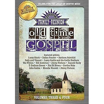 Country Family Reunion: Old Time Gospel 3-4 [DVD] USA import