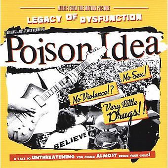 Poison Idea - Legacy of Disfunction [CD] USA import