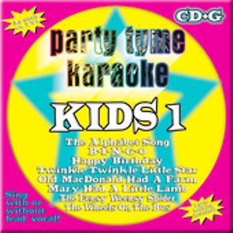 Party Tyme Karaoke - Party Tyme Karaoke: Vol. 1-Kids [CD] USA import