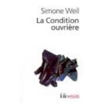 La Condition Ouvriere by Simone Weil - 9782070423958 Book