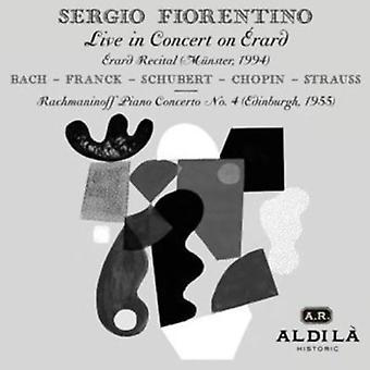 Bach/Franck/Schubert/Chopin - Sergio Fiorentino: Live in Concert on  Rard [CD] USA import