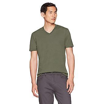 """Goodthreads Men&s """"The Perfect V-Neck T-Shirt"""" Bawełna z krótkim rękawem, oliwka, X-..."""
