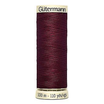 Gutermann Naai-alle 100% polyester draad 100m hand en machine kleurcode - 369