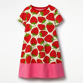 Party Dress, Strawberry Design, Infant