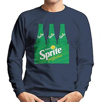 Desfrute de Sprite retro 90 garrafa crate Men ' s camisola