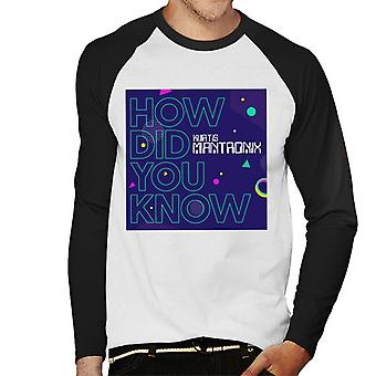 Mantronix Album How Did You Know Men's Baseball Long Sleeved T-Shirt