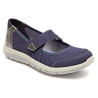 Aravon Women's Wembly Mary Jane Fashion Sneaker