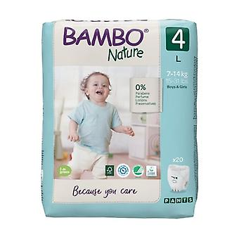 Diapers Pants T4 (7-14 kg) ECO 20 units