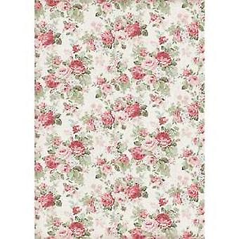 Stamperia Рисовая бумага A4 Текстура Большие розы