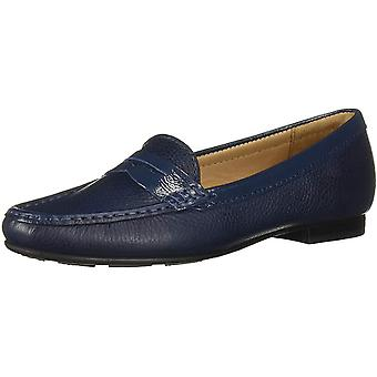 Driver Club USA Women-apos;s Shoes DC24755-EARTHNO Suede Closed Toe Loafers
