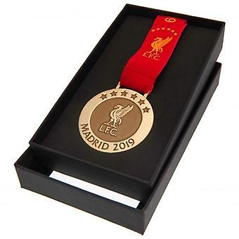Liverpool Madrid 19 Replica Medal