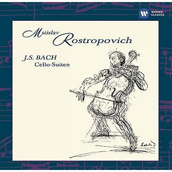 Bach / Rostropovich - Cello Suites [CD] USA import