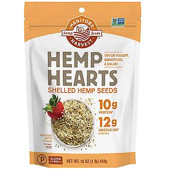 Manitoba Harvest, Hemp Hearts, Shelled Hemp Seeds, Delicious Nutty Flavor, 16 oz