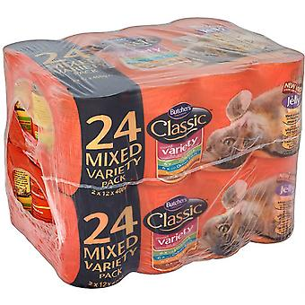 Butcher's Classic Cat Variety Pack Mixed - 24x 400g