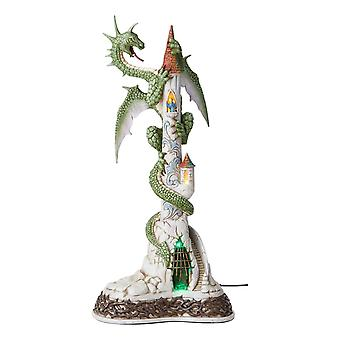 Limited Ed Lighted Dragon Jim Shore's Collectible Statue