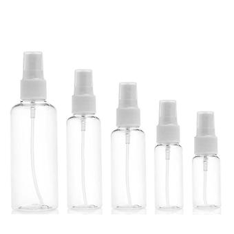 Portable Small Transparent Empty Spray Refillable Bottles