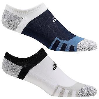 adidas Golf Unisex 2020 Tour 360 No Show Miękkie bawełniane amortyzowane prążkowane skarpetki