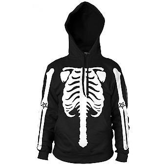 Blackcraft Cult Skeleton Pullover Hoodie