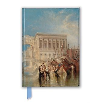 Tate Venice the Bridge of Sighs by J.M.W. Turner Foiled Journal by Created by Flame Tree Studio