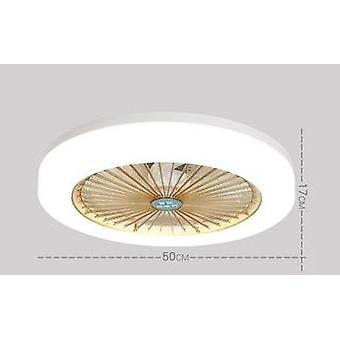 Ultra-thin Ceiling Fan With Light For Restaurant, Bedroom, Modern Design