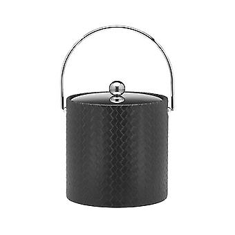 San Remo Eclipse 3 Qt Ice Bucket W/ Bale Handle & Metal Cover