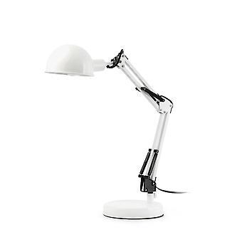 1 Lampka biurkowa biała, E14