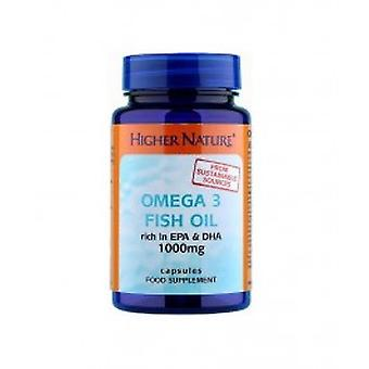 Higher Nature - Omega 3 Fish Oil 1000Mg Capsules