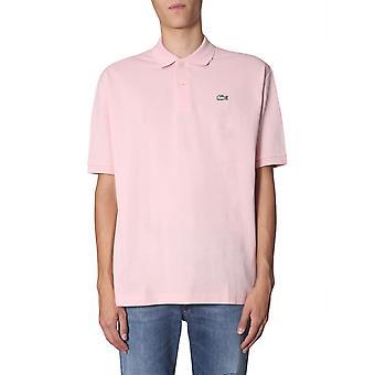 Lacoste Ph8027yzn Men'camisa polo de algodão rosa