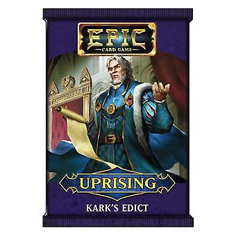 Epic Card Game Uprising - Kark's Edict booster