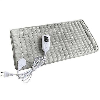6 Level Electric Heating Timer Pad For Shoulder Neck Back Spine Leg Pain Relief Winter Warmer