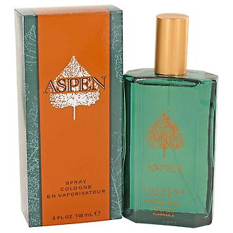 Aspen Cologne Spray By Coty 4 oz Cologne Spray