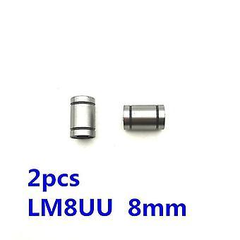 Linear Rail Axk Cnc Router Parts Linear Bushing 8mm Ball Bearing 3d Printer Parts Lm8 Cnc