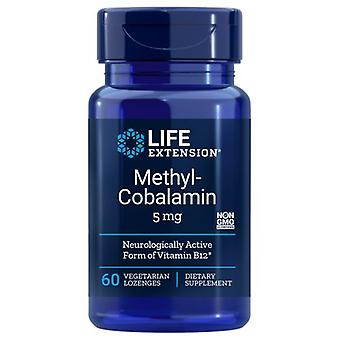 Life Extension Methylcobalamin Dissolve In Mouth Lozenges, 5 mg, 60 loz