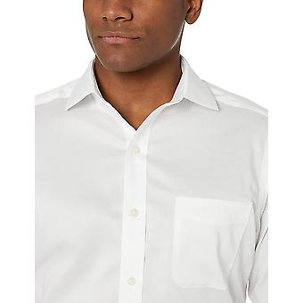 Brand - BUTTONED DOWN Men's Tailored Fit Stretch Twill Dress Shirt, Su...