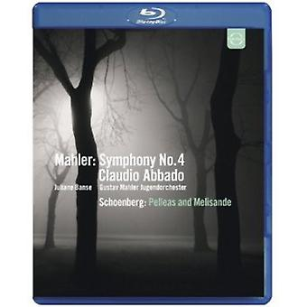 Symphony No. 4 Pelleas & Melisande [Blu-ray] USA import