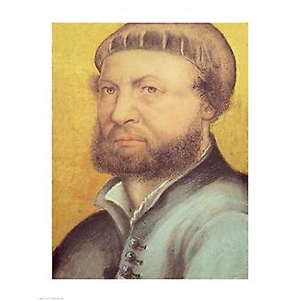 Self Portrait 1542 Poster Print by Hans Holbein