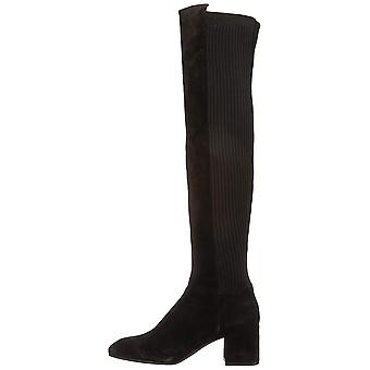 Kenneth Cole New York Womens Eryc Leather Square Toe Over Knee Fashion Boots