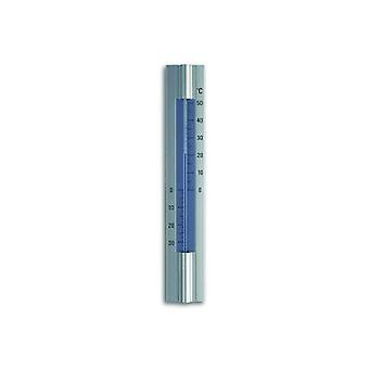Analogue Indoor-Outdoor Thermometer Made of Aluminium 12.2045