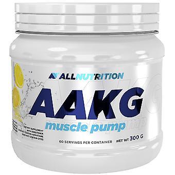 Allnutrition Aakg العضلات مضخة 300 غرام