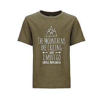 الجبال تدعو تي شيرت