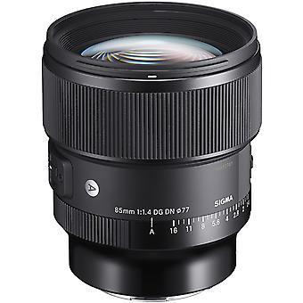 Sigma 85mm f/1.4 dg dn art lens voor sony e