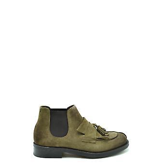 Doucal's Ezbc089046 Men's Brown Suede Ankle Boots