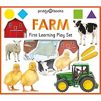 First Learning Farm Play Set (First Learning Play Sets) [Board book]