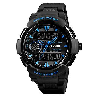 SKMEI 1320 Double Display Digital Watch Men Chronograph Alarme Watch Mode