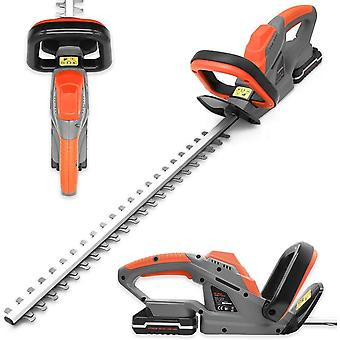 Terratek 20V Li-ion Cordless Electric Hedge Trimmer, Battery & Charger Included