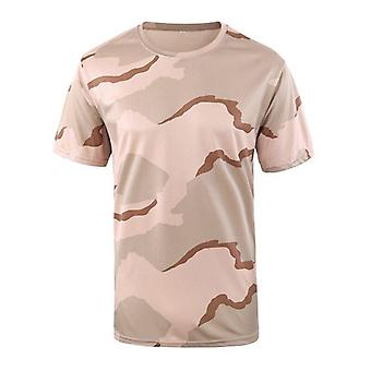 Hunting Camo Shirts Quick Drying Tactical Tee Tops Camouflage Army Military